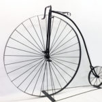 This big wheeled bike was made for a bike shop in Atlantic, Iowa by Marten's Metal Design partner, John Molloy.