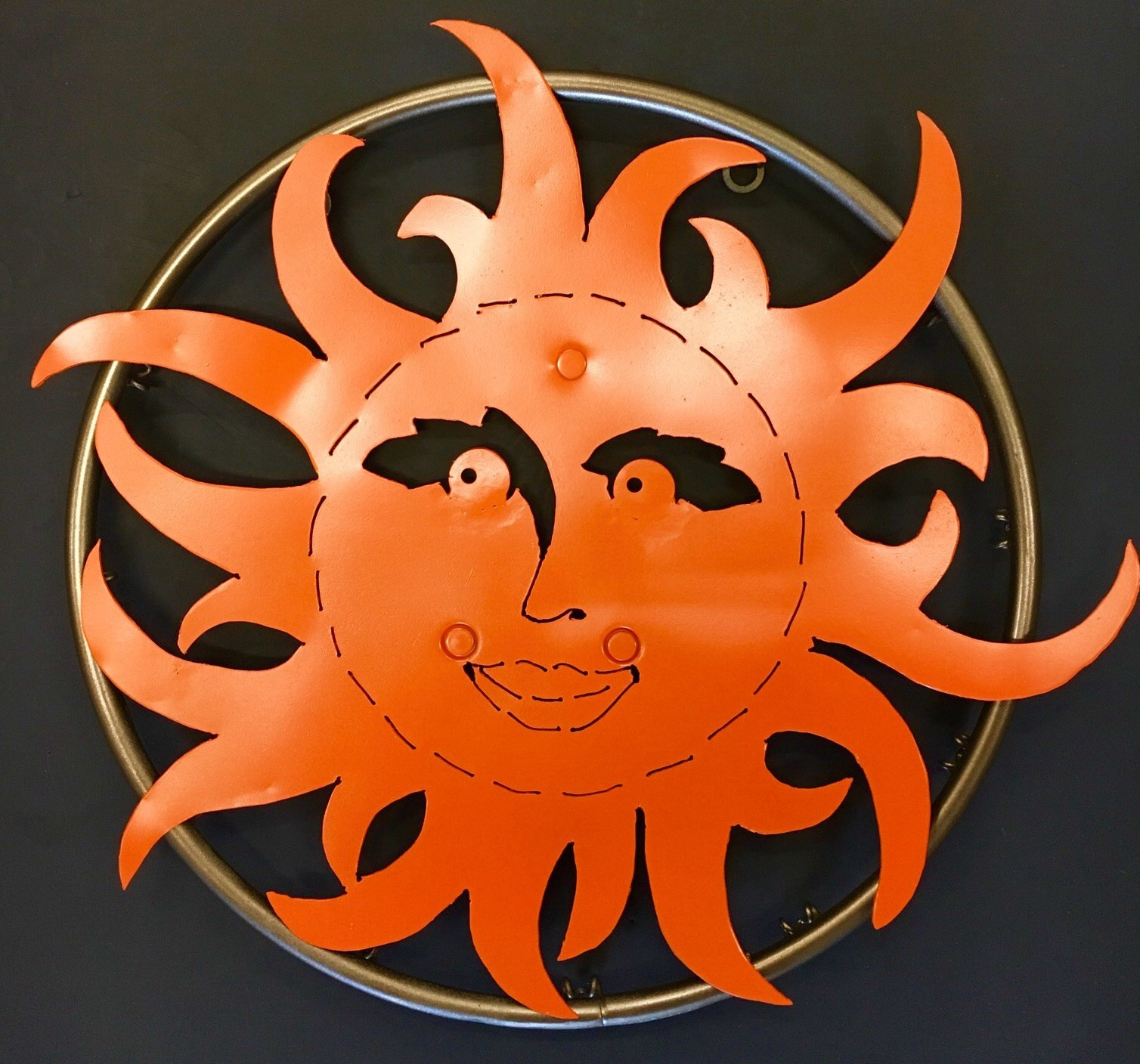 Sun Metal Sculpture
