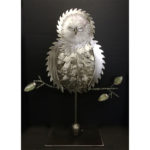 Barn Owl Asleep, $245, avail at Noyes Gallery, 119 S. 9, Lincoln, NE 402-475-1061