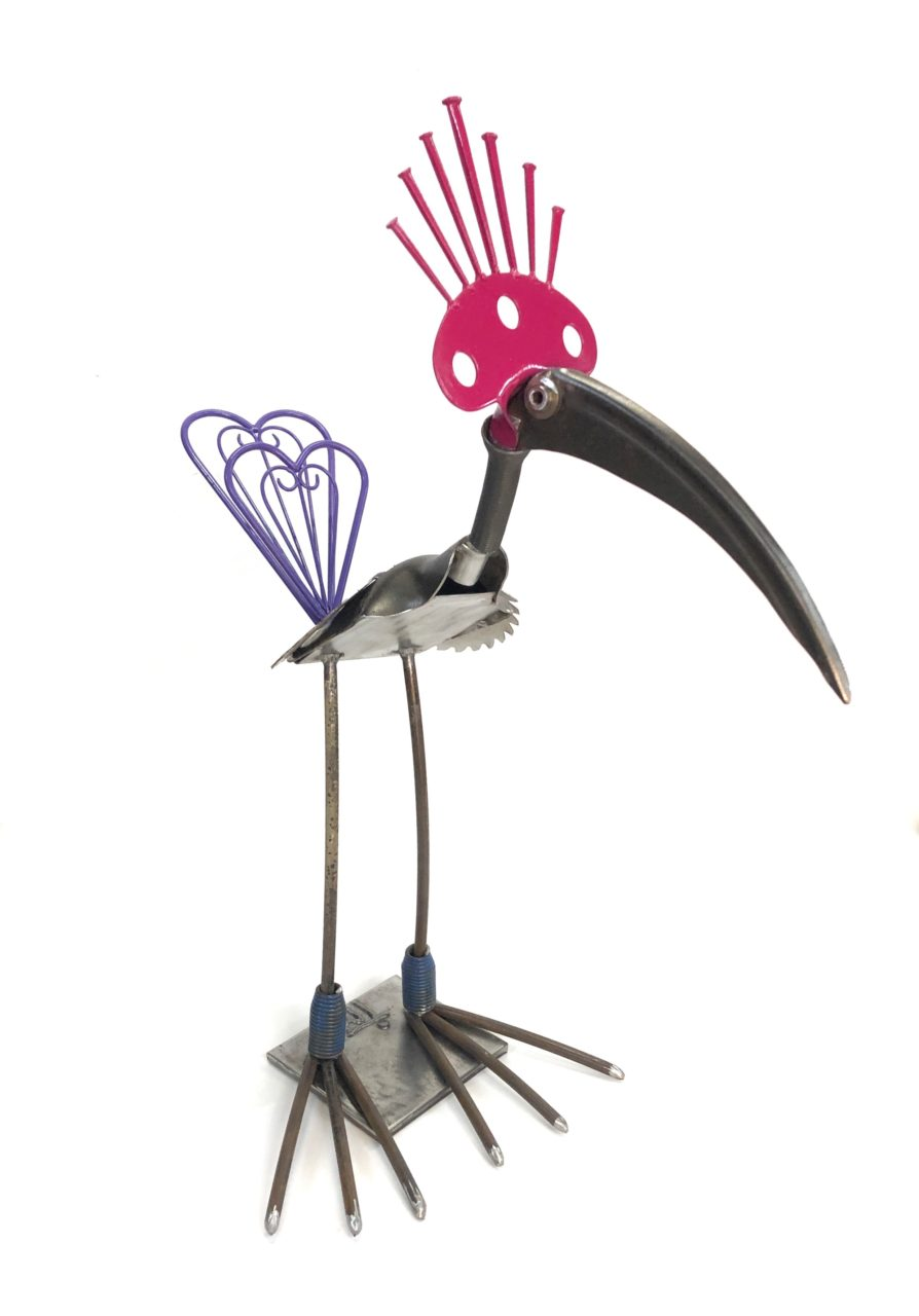 Purple Tailed Wader - $145